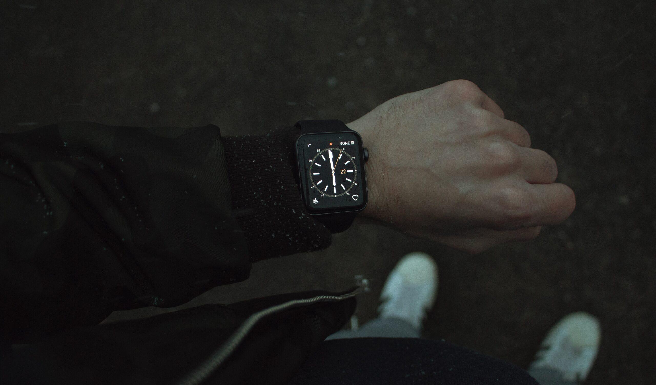 sporten met je smartwatch
