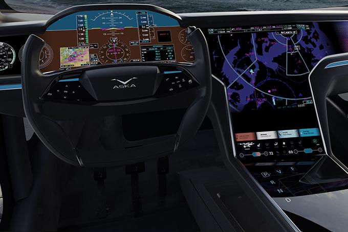 aska, vliegende, auto, pre-order