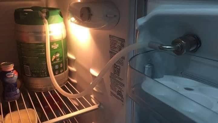 biertap, koelkast 6