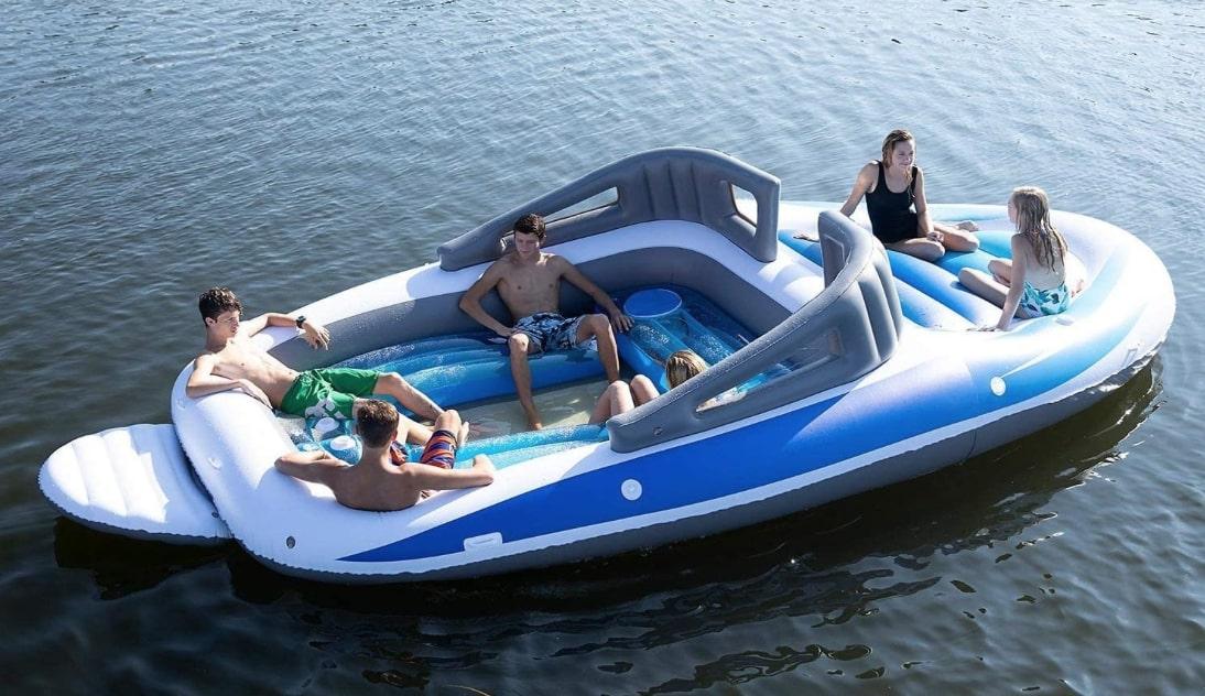opblaasbare, speedboot, amazon