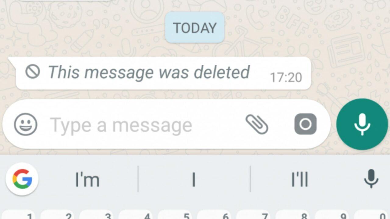 whatsapp, verwijderde, berichten, teruglezen