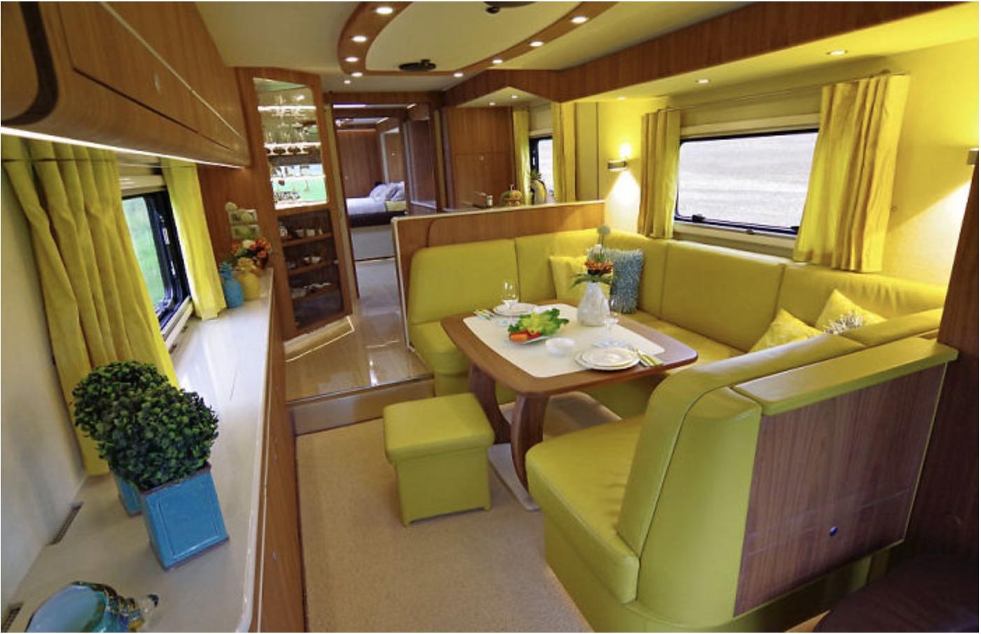 camper, luxe, Volkner Mobil Performance S-klasse